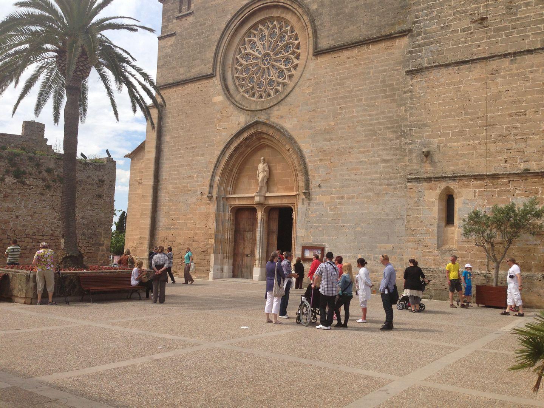 Kirche in Alcudia Altstadt