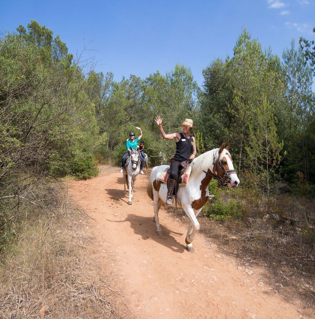 Reitweg in Alcudia
