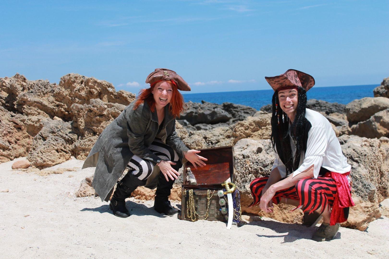 Piratentour auf Mallorca für Familien