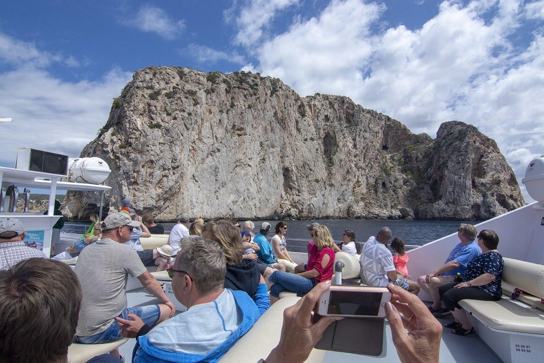 Ausicht von ab Boot