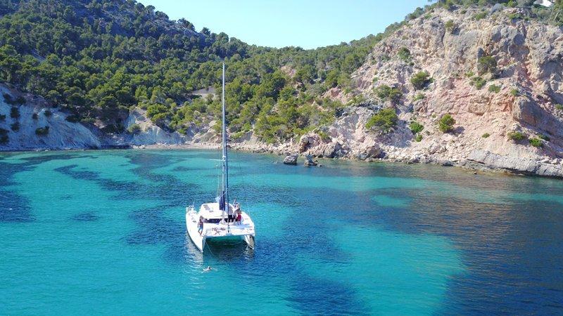 excursión en catamarán en Mallorca