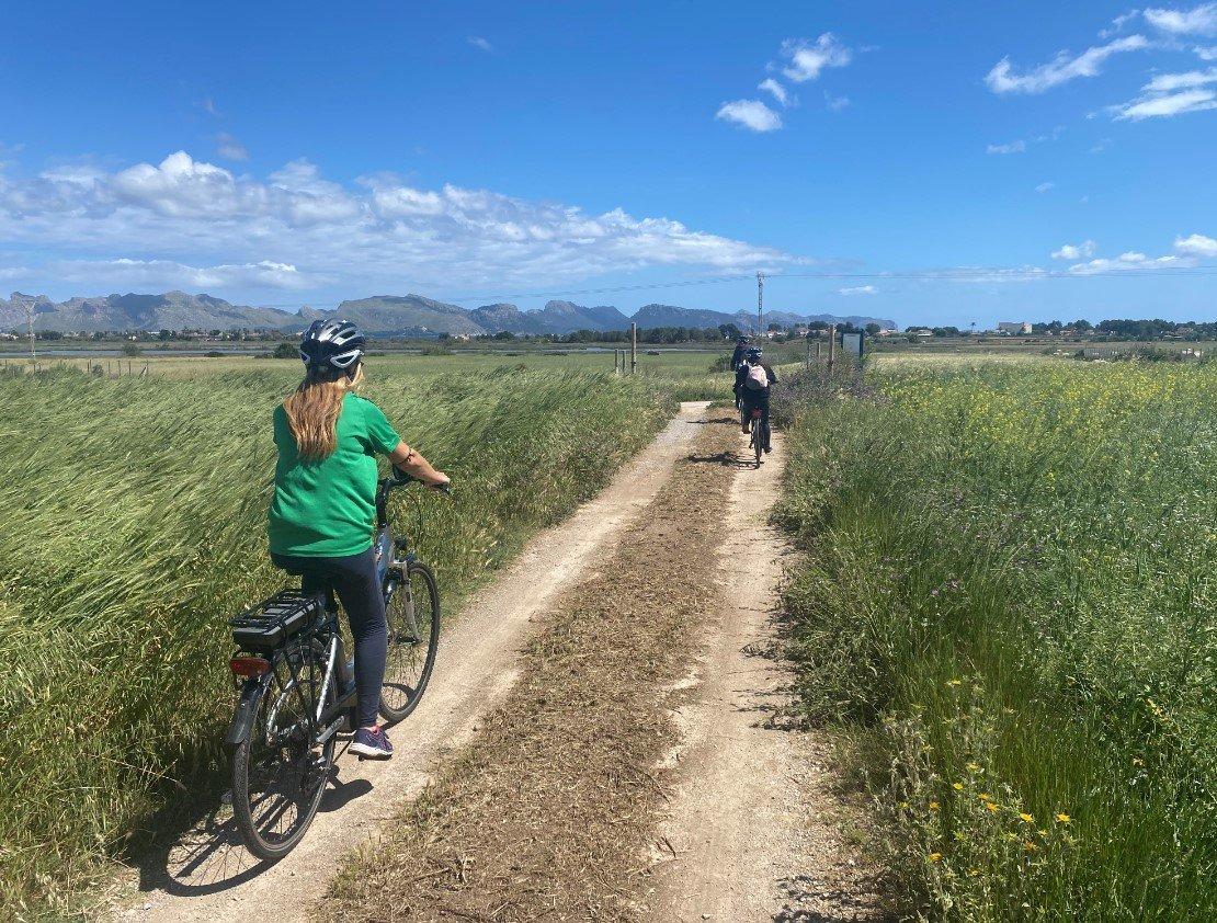 Paseo en bici por los alrededores de Alcudia
