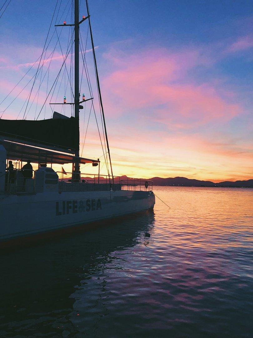 catamaran tour in cala ratjada