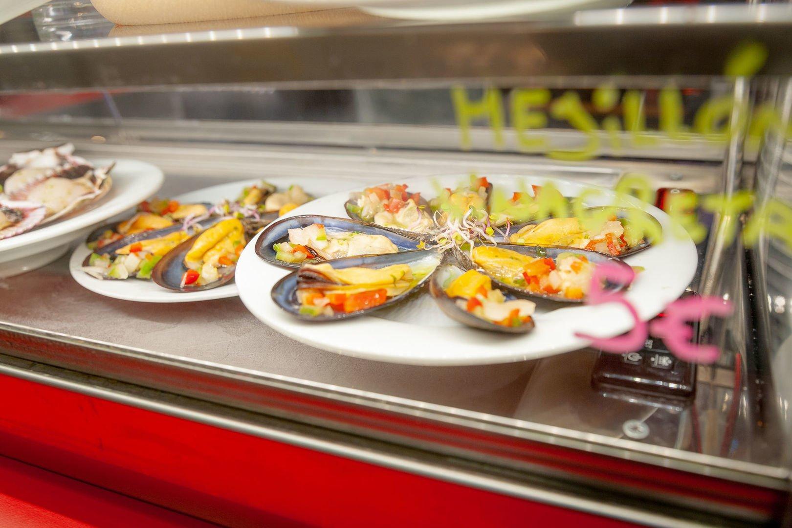 Tapas plates in Palma de Mallorca