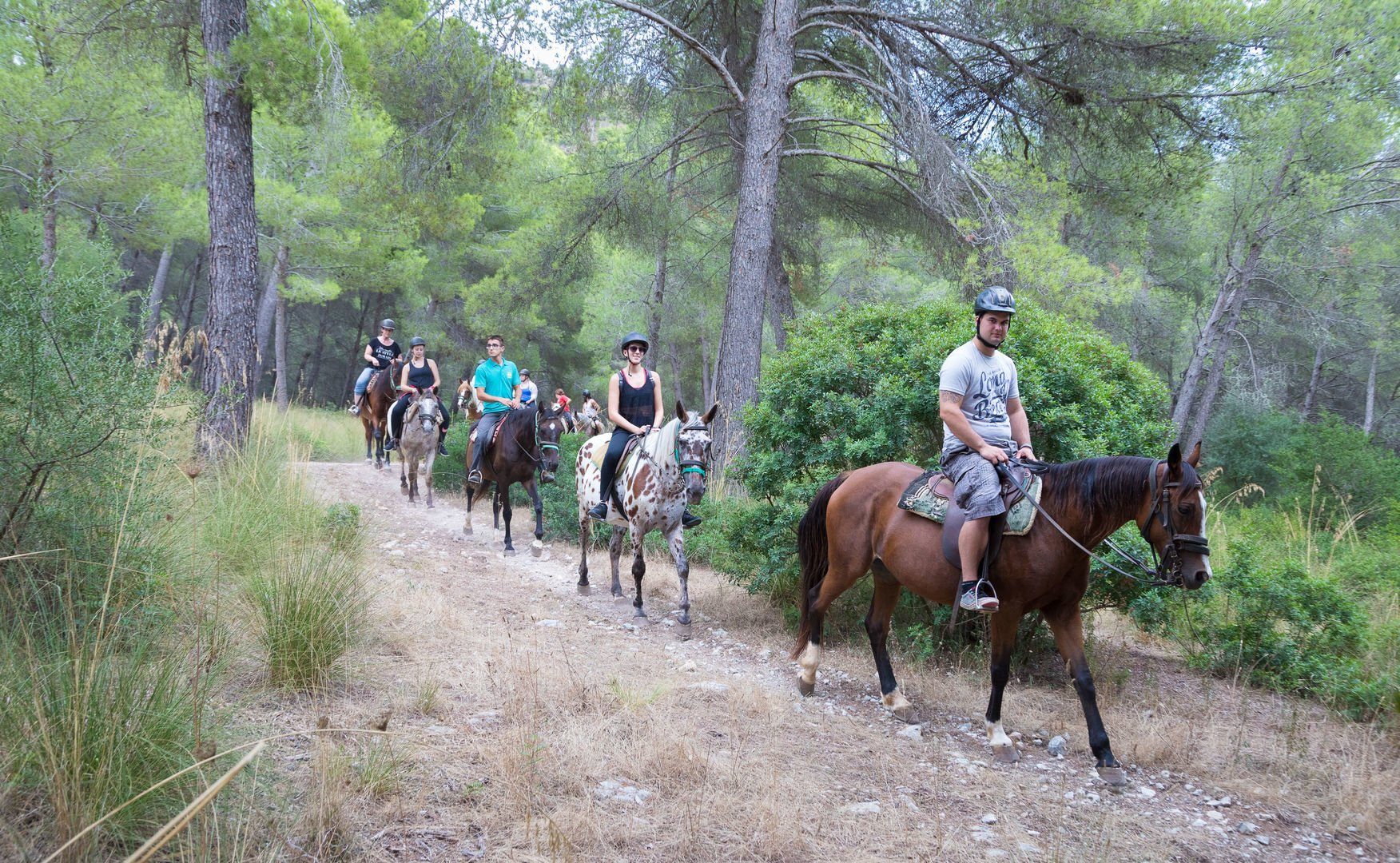 horse riding in mallorca