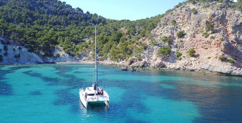 sail4fun catamaran in mallorca