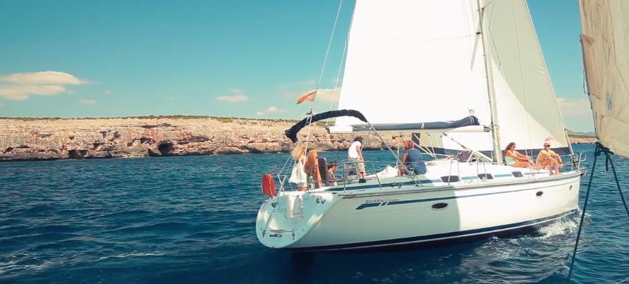 sailboat in mallorca