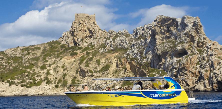 Boat to Cabrera