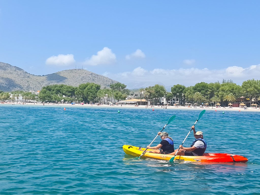 Alcudia: one of the best places for kayak