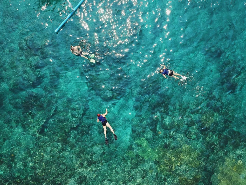 snorkel in malgrats islands