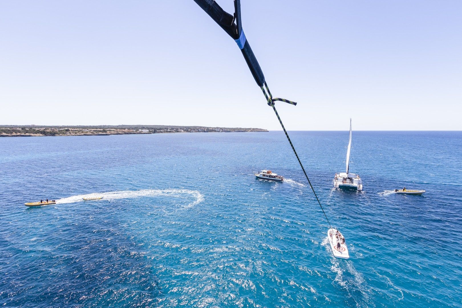 water sports mallorca: parasail